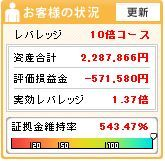 20120630週刊収支
